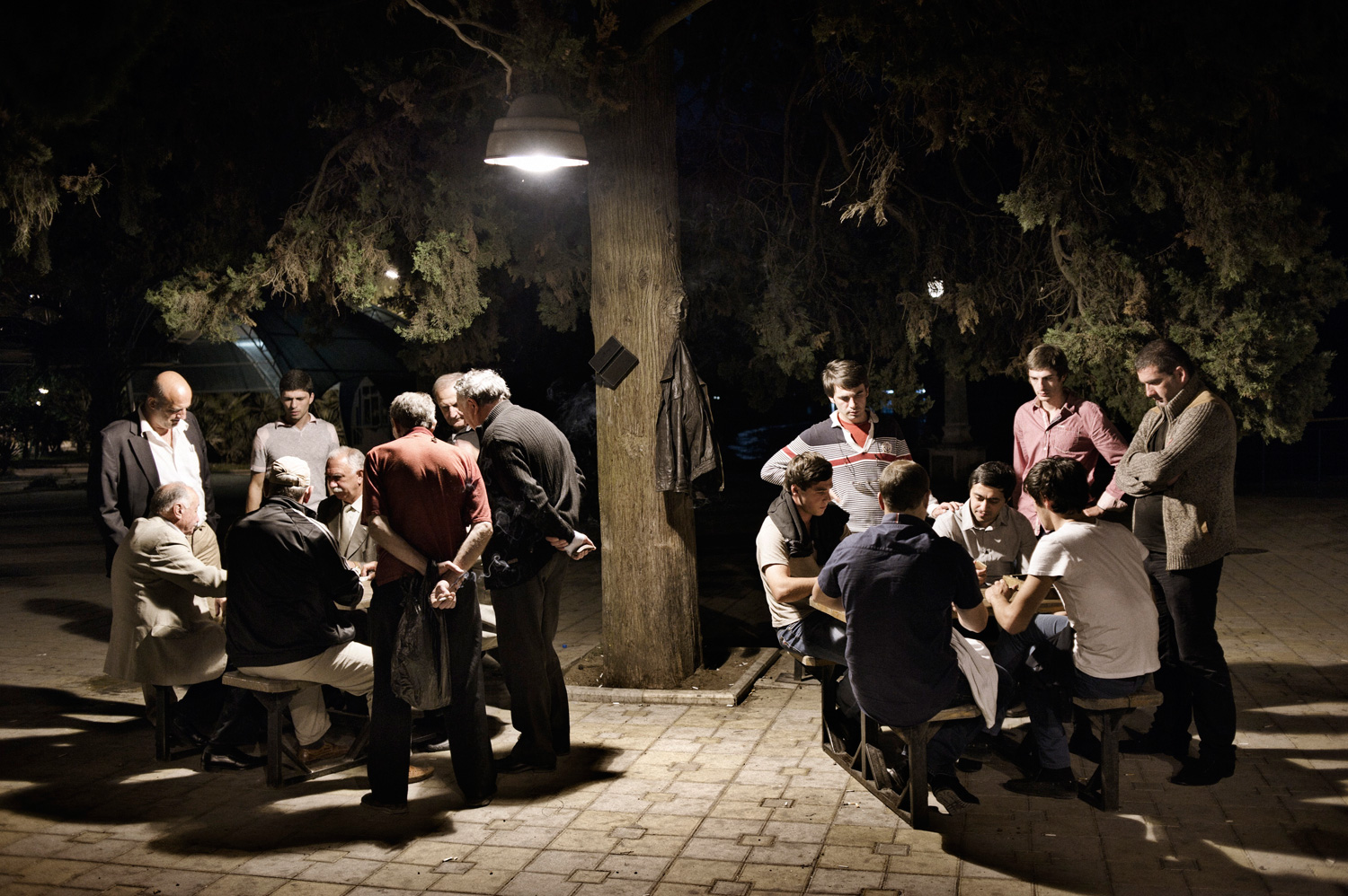 Domino competitions are a serious business on the promenade in central Sukhumi, the capital of Abkhazia, a former Soviet vacation spot on the Black Sea.