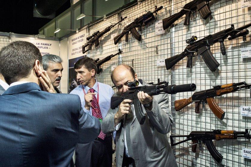 Syria-Russian arms bazaar
