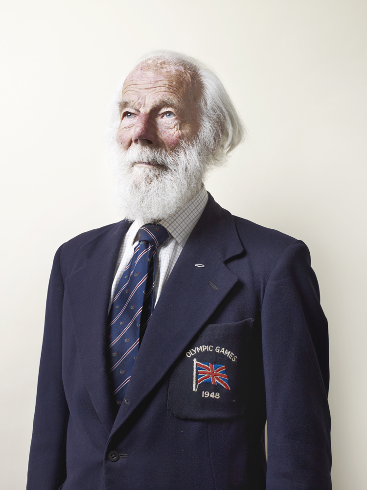 LaPage started rowing at age 14 and returned to the sport after WWII. His team took Silver in the 1948 games.  There were no ribbons on the medals, so we couldn't hang them round our necks. We just showed them round the family and went back to our job.