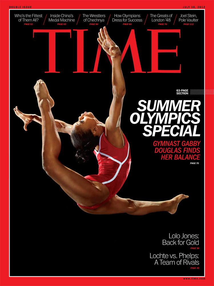 One of three cover photographs for the July 30 issue of TIME, photographed by Martin Schoeller.