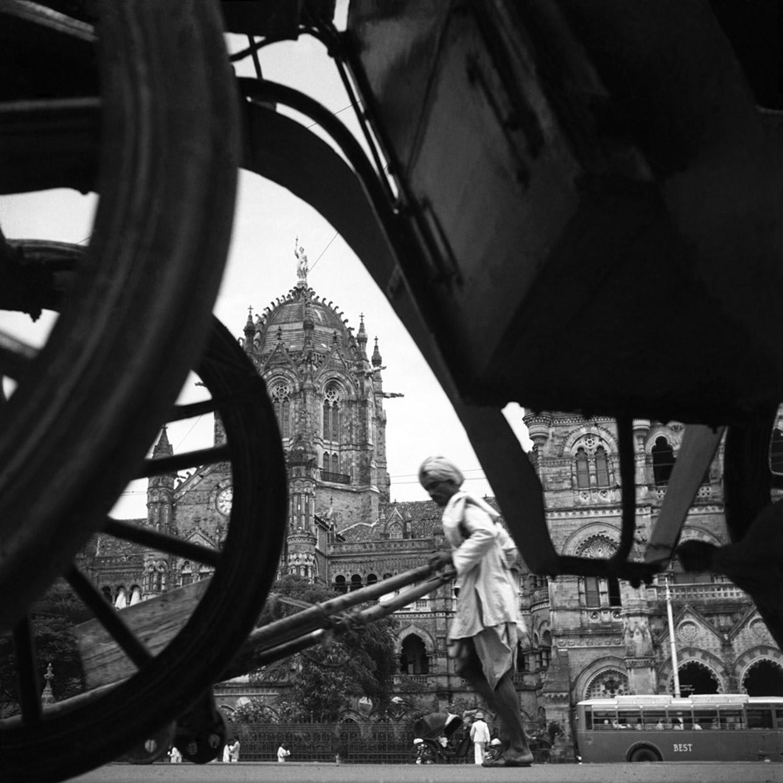 The Victoria Terminus, now Chhatrapati Shivaji Terminal, Bombay, 1940