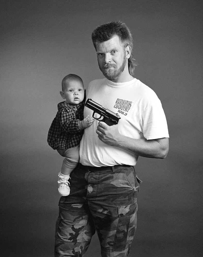 Mike, father and gun owner.  It's my constitutional right to own a gun and protect my family.