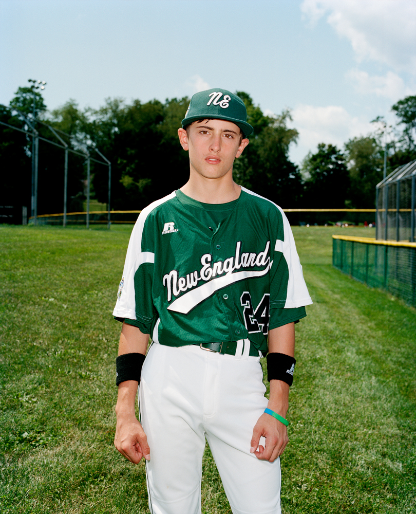 Will Lucas #24, short stop/pitcher for Fairfield American Little League, Fairfield, Conn., the 2012 New England Champions.