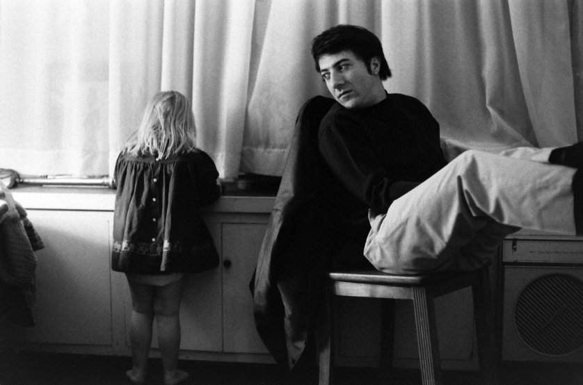 116982286.jpgDustin Hoffman with his stepdaughter Karina, 1969.