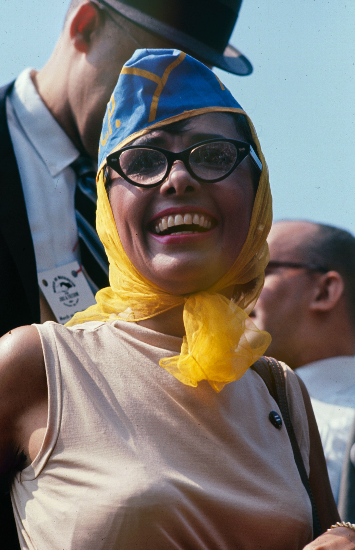 Lena Horne at the March on Washington for Jobs and Freedom, August 28, 1963.