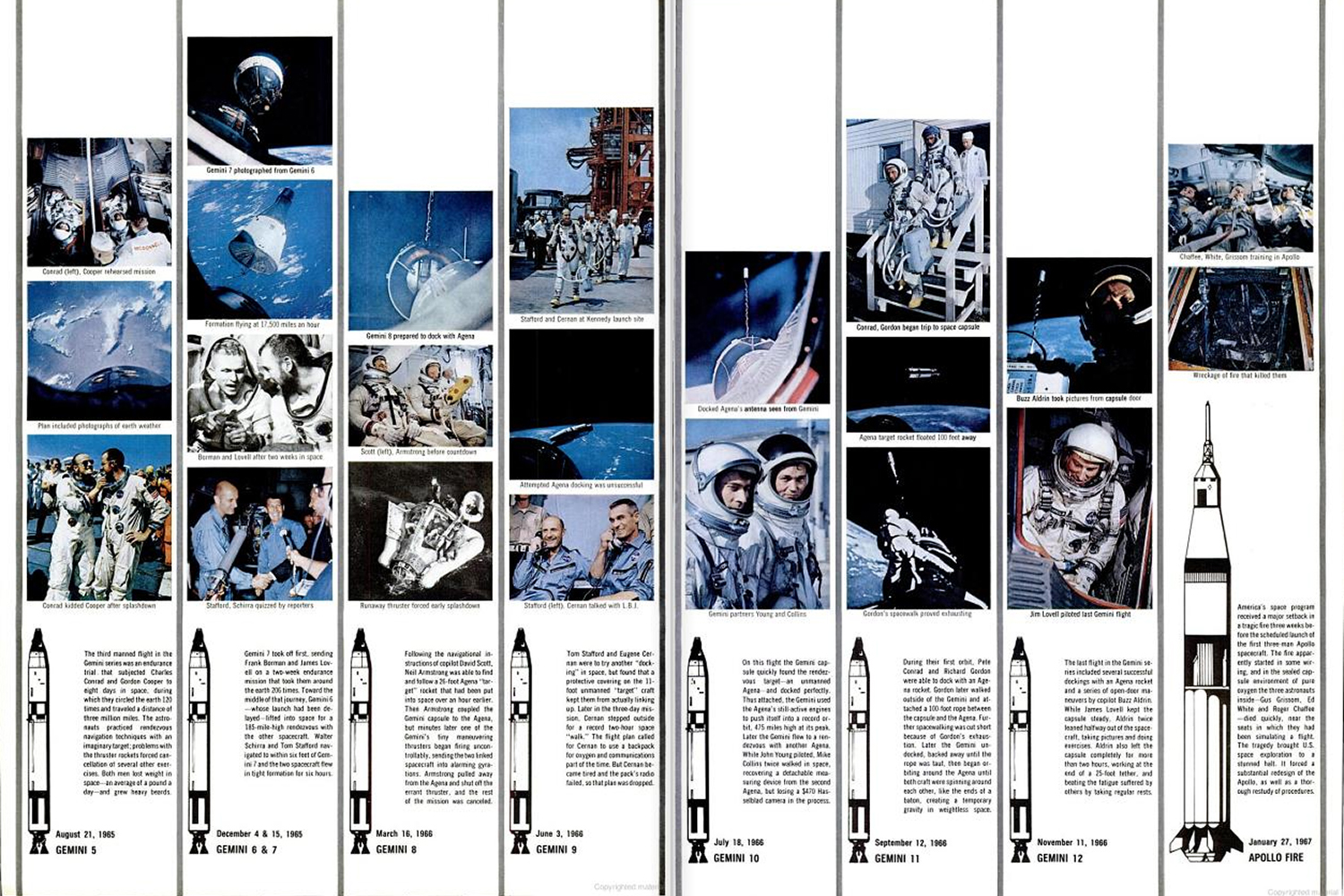 "<b>LIFE magazine Special Edition, August 11, 1969.</b> ""A Calendar of Space Flight: Man's Countdown for the Moon ..."""