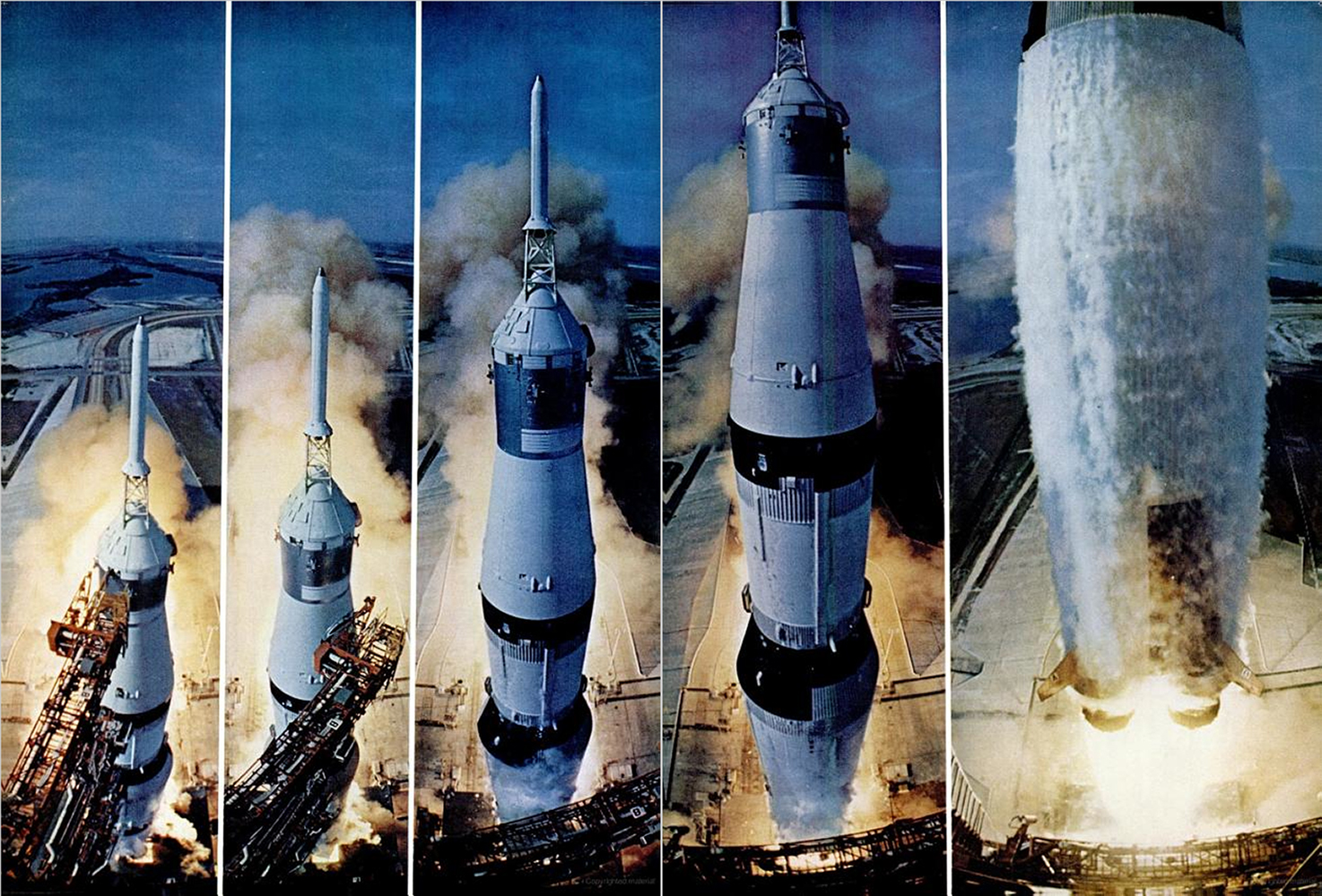 "<b>Life magazine Special Edition, August 11, 1969.</b> ""Apollo 11 lifts off ..."""