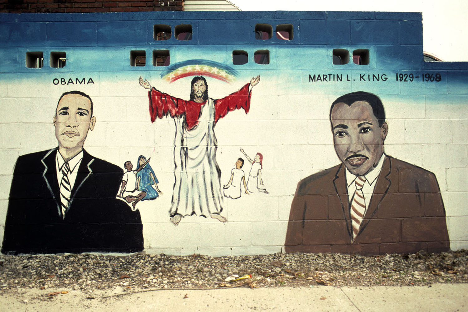 Because They Were Both Great Leaders 17900 Woodward Avenue, Detroit2009