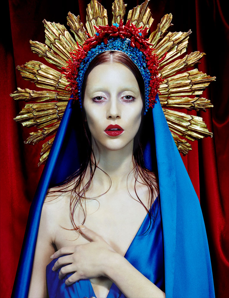 Immaculee #3 (Red Madonna), 2012
