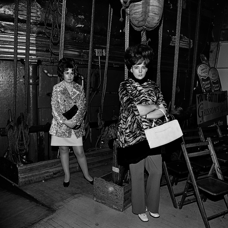 Waiting Backstage, Ryman Auditorium, Nashville, 1972