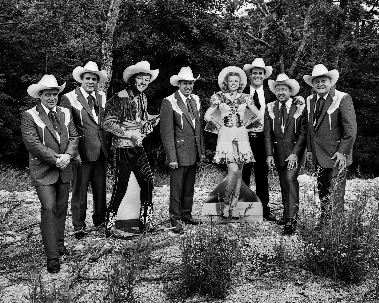 Sons of the Pioneers with Roy Rogers and Dale Evans, Branson, Mo., 1997