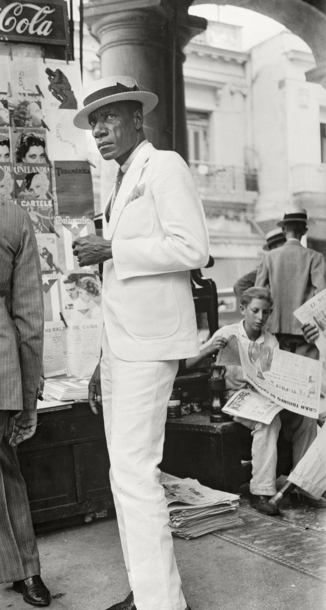 Citizen in Downtown Havana, 1932