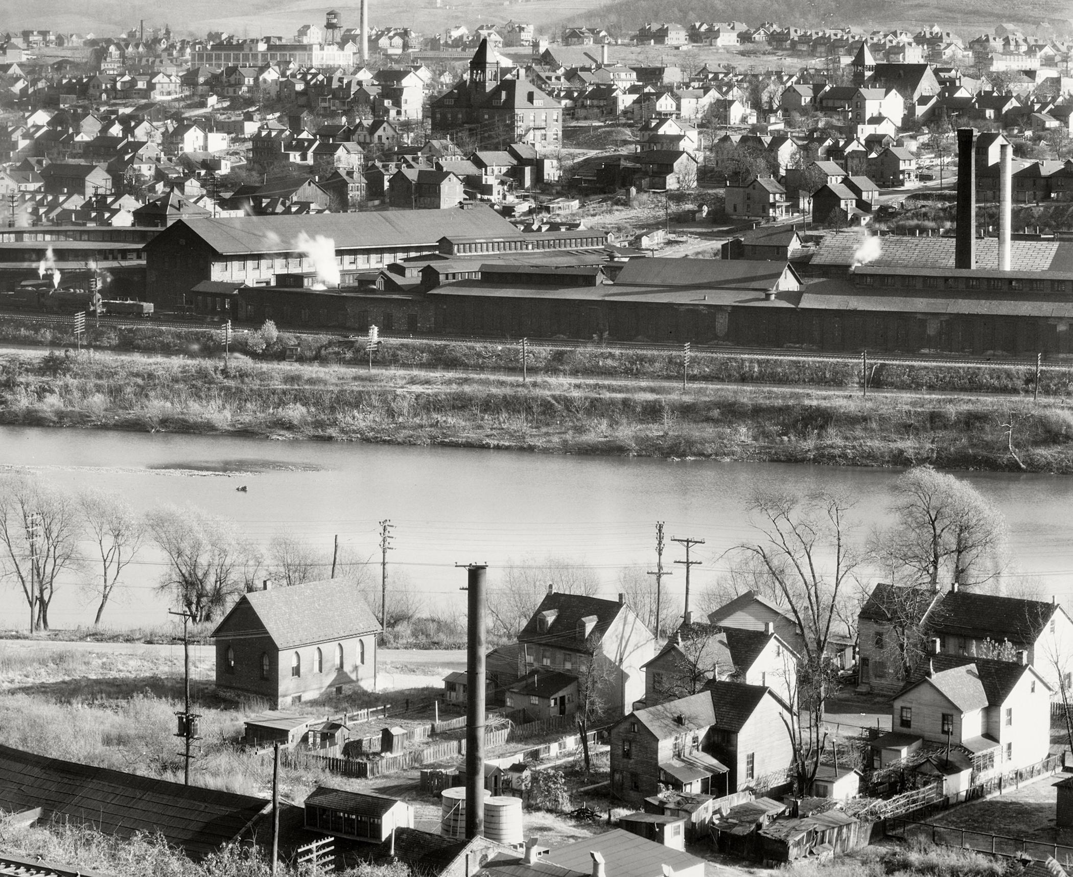 View of Easton, Pennsylvania, 1936