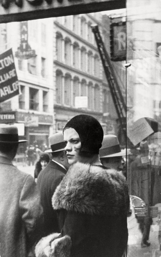 Girl In Fulton Street, New York, 1929