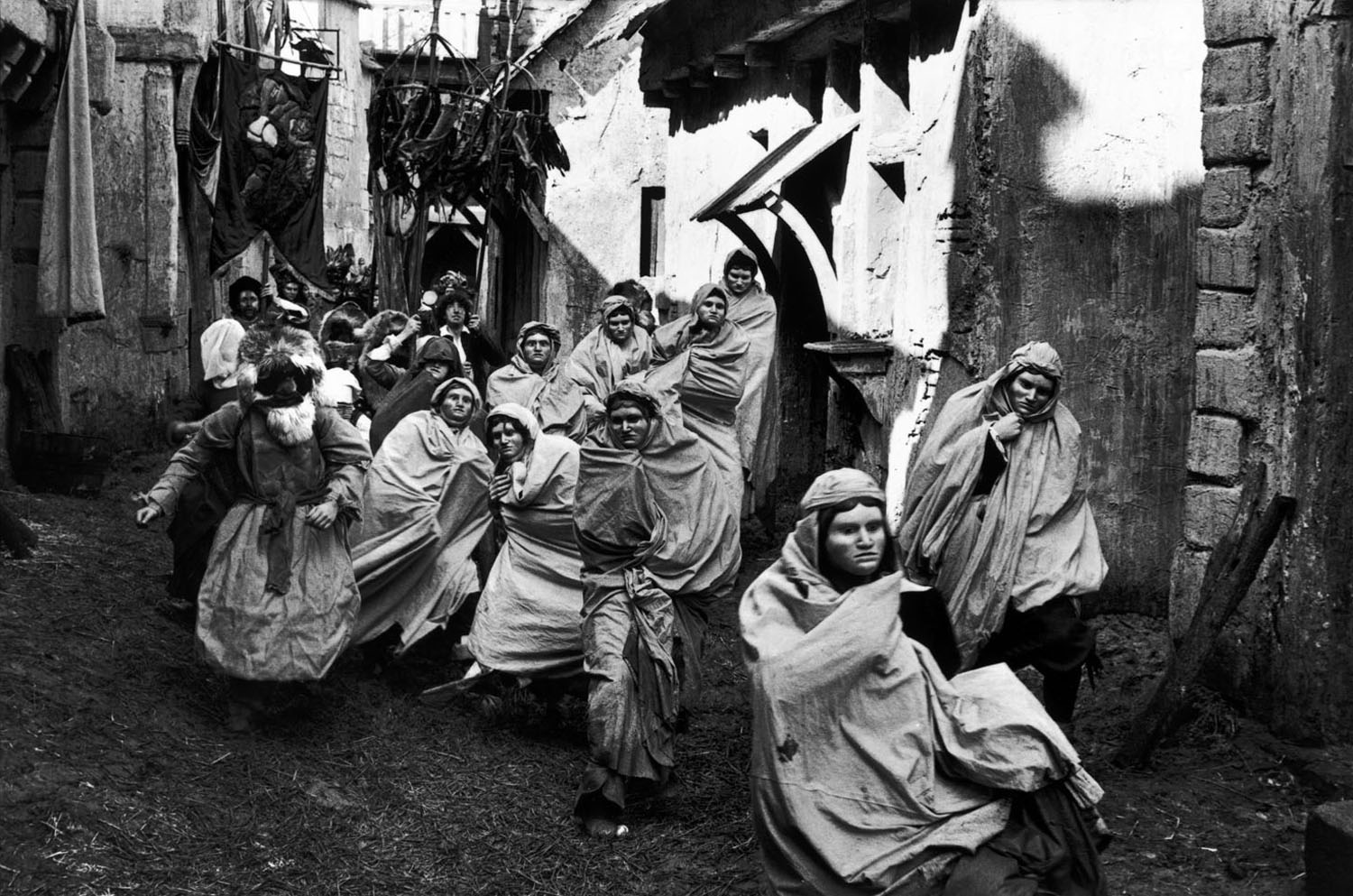 Representation of the carnival, 1977.