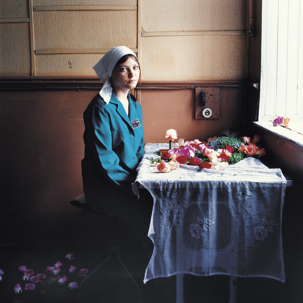 Nadia, sentenced for narcotics.Women's prison, Ukraine, 2010