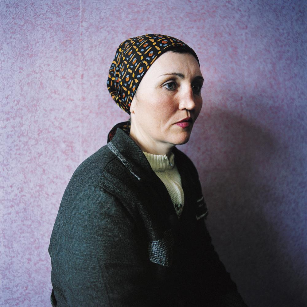 Ira, sentenced for theft. Women's prison,Ukraine, 2009.