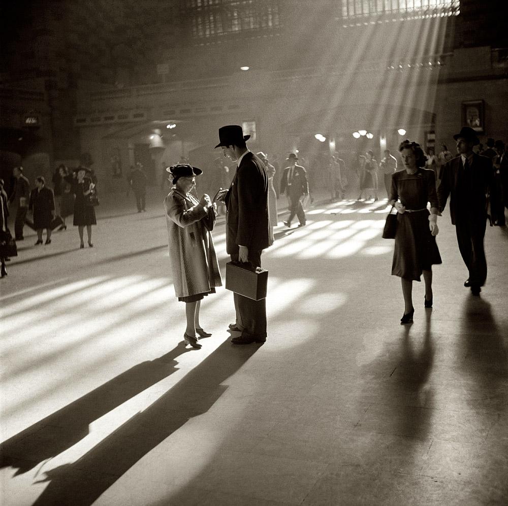 October 1941.  Grand Central Terminal, New York City.