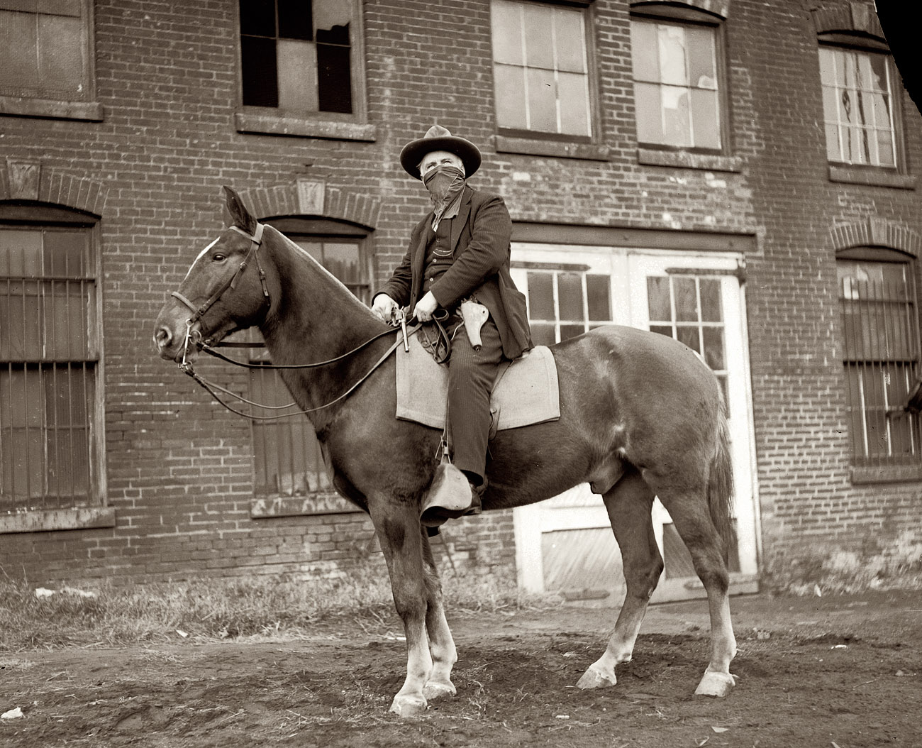 Pat Crowe,  former outlaw,  in 1921. According to newspaper accounts of the day, Mr. Crowe's résumé included bank holdups, train robbery and kidnapping.