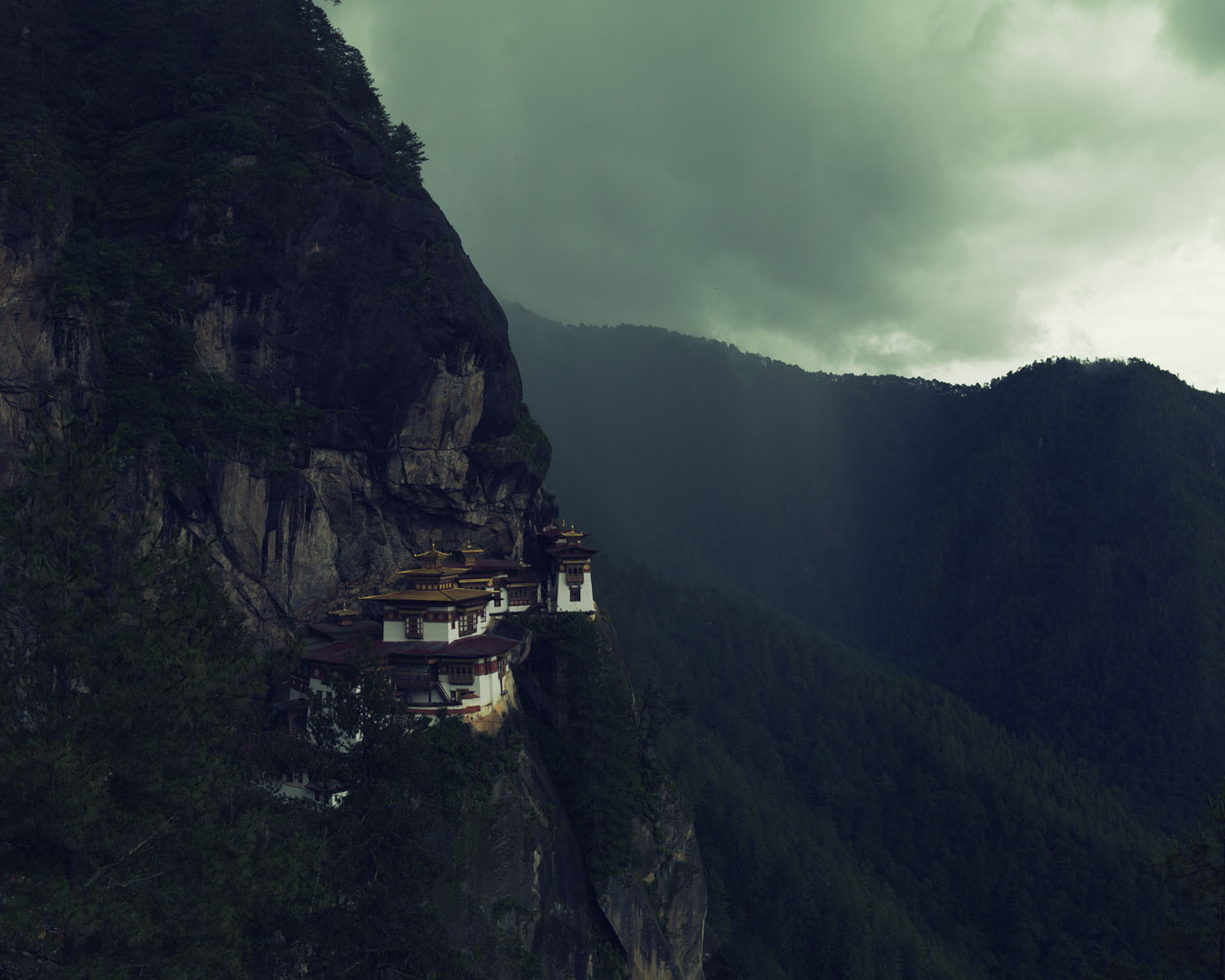 All photographs taken in Bhutan in July, 2012                               Paro Taktsang, known as the Tiger's Nest, is an ancient Buddhist temple perched 10,200 ft. above Bhutan's Paro Valley.