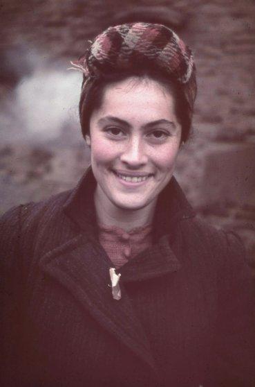 Unidentified woman, Kutno, Nazi-occupied Poland, 1939.