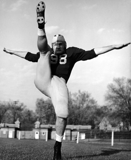 Michigan's Tom Harmon in 1940, the year he won the Heisman.