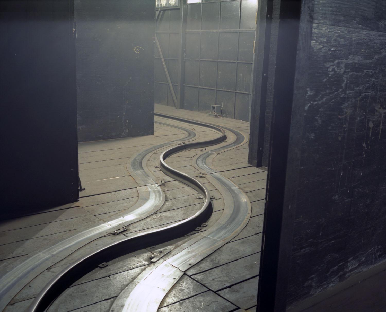 Tracks at Dante's Inferno                               Astroland, Coney Island, N.Y., 2004