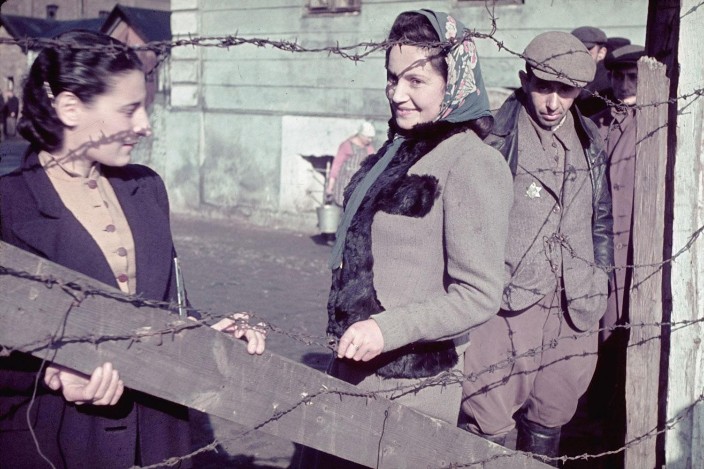 Unidentified young women, Kutno, Nazi-occupied Poland, 1939.