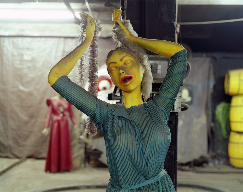 Dancing ghoul                               Spook-A-Rama, Coney Island, N.Y., 2004