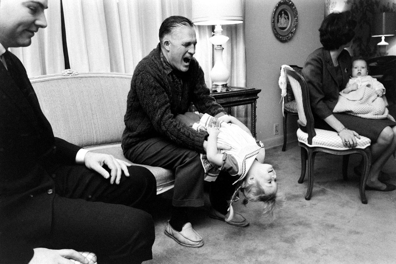 George Romney and grandchildren, 1962