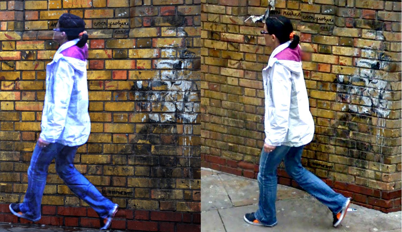 Street Ghosts                               Brick Lane - B134 / Woodseer Street, London