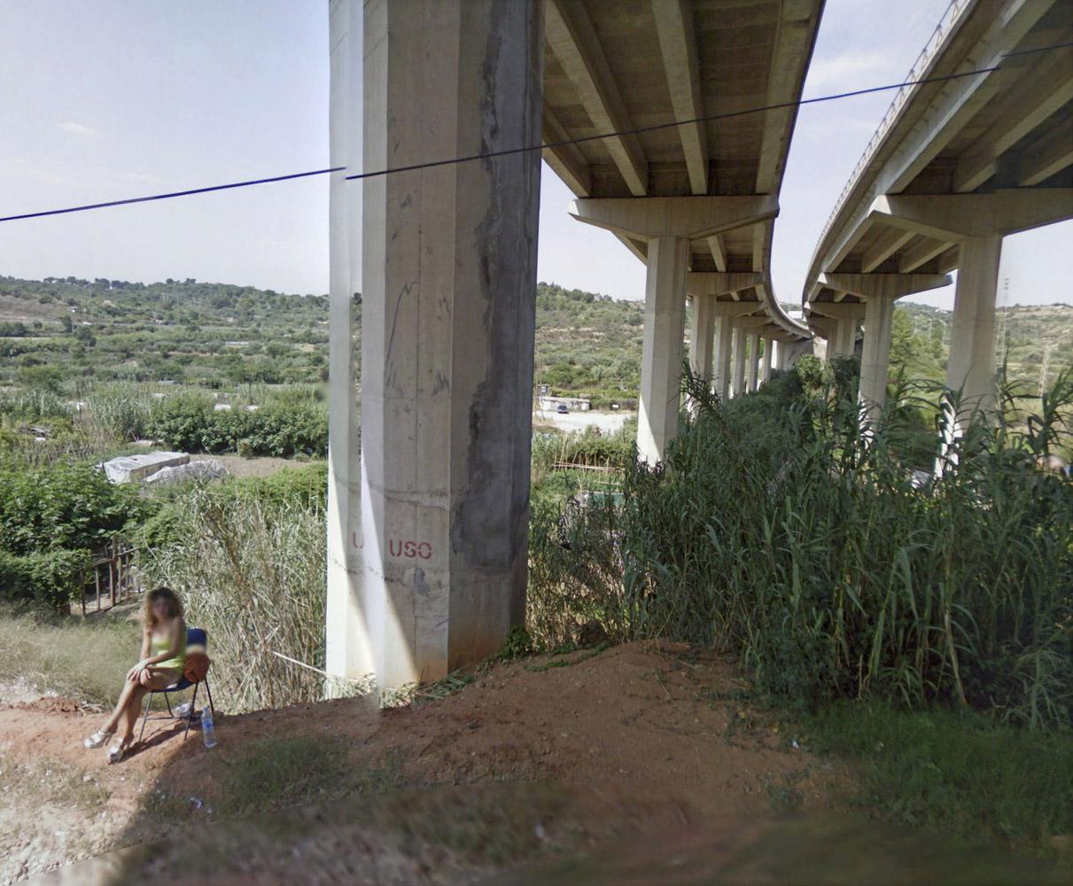 No Man's Land                               Carretera de Rubí, Terrassa, Spain. 2011-present