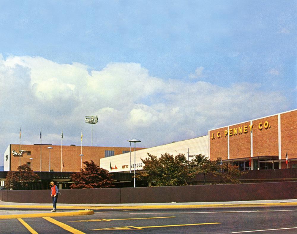 The Lloyd Center, Portland, Oregon, August 11, 1966, 2012