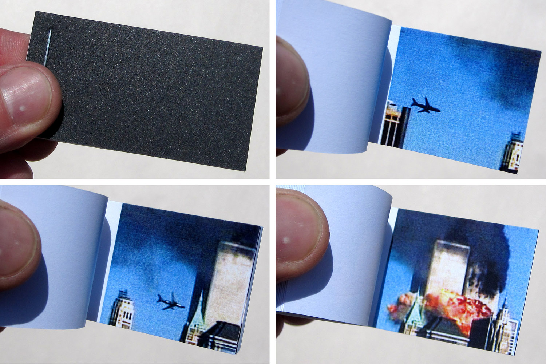 Small 9/11 Flipbook by Scott Blake
