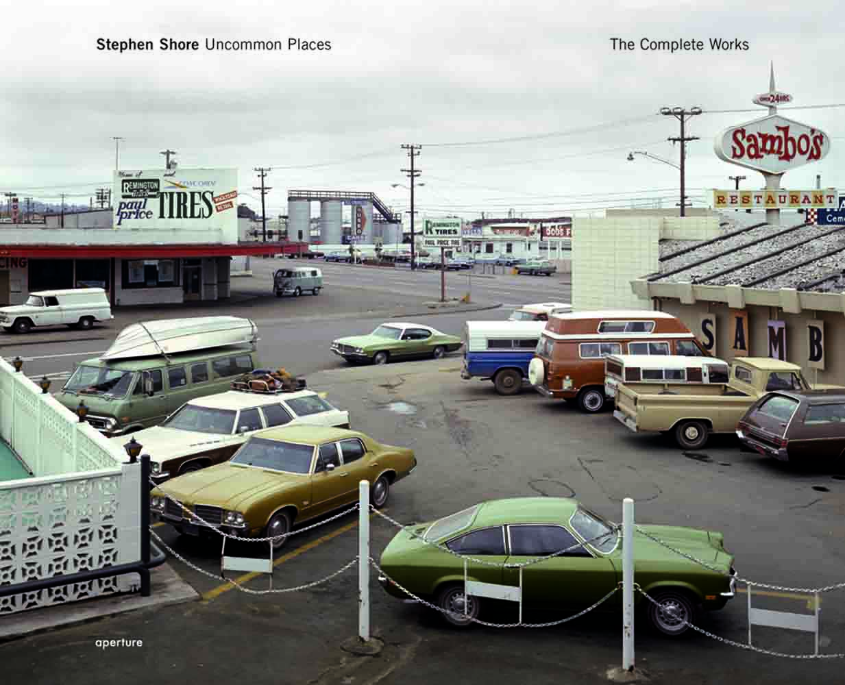 Steven Shore's Uncommon Places, 2004                               Stephen Shore turns his eye on the American experience in Uncommon Places, with photographs of banal landscapes, main streets and other places that make up American mythology.