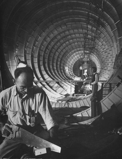 "Howard Hughes' ""Spruce Goose"" 1947"