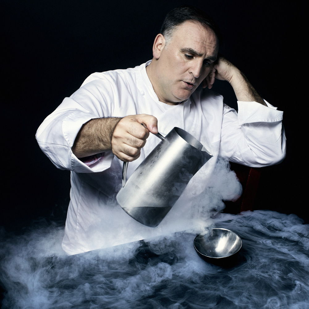 Jose Andres, Chef and Activist. From  Time 100: The World's 100 Most Influential People,  April 30, 2012 issue.