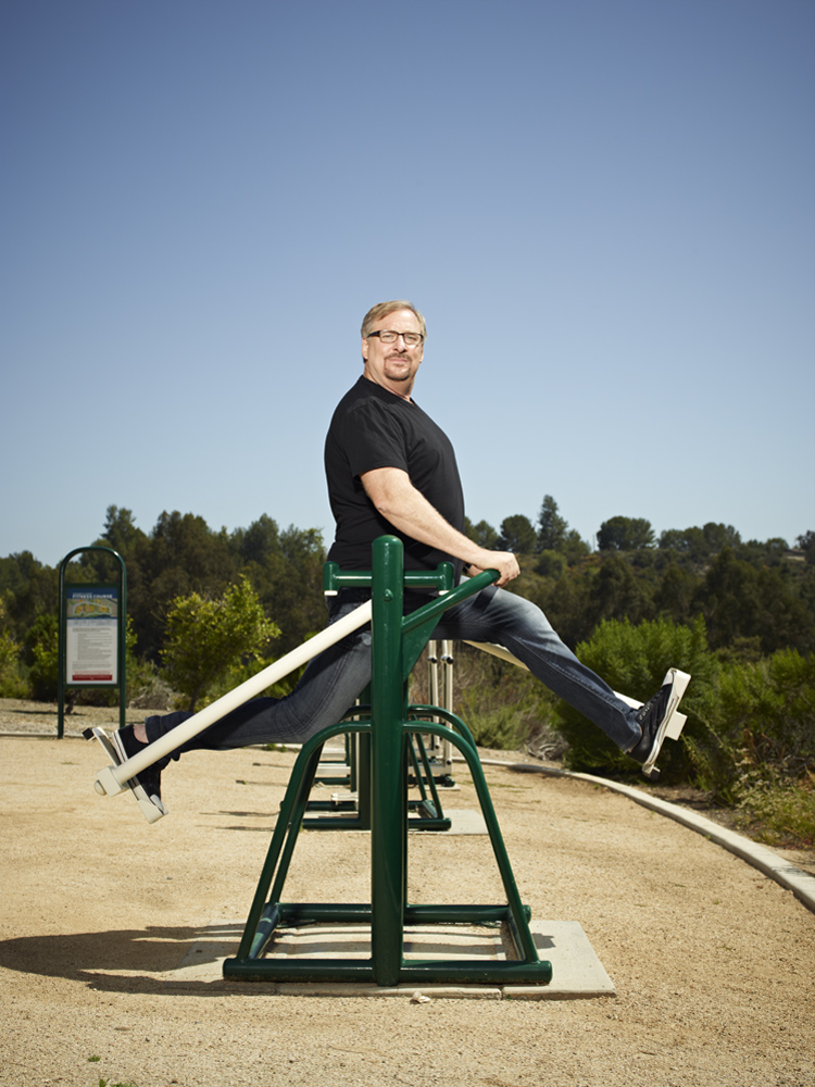 Rick Warren, Pastor at Saddleback Church, Lake Forest, California. From  Does God Want You To Be Thin?  June 11, 2012 issue.