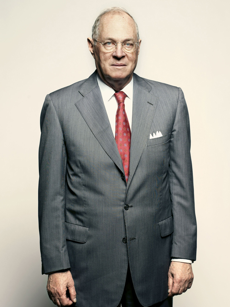 Anthony Kennedy, Supreme Court Justice. From  What Will Justice Kennedy Do?  June 18, 2012 issue.