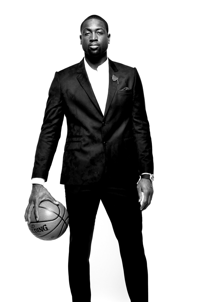 Dwyane Wade, Professional Basketball Player. From  10 Questions,  September 24, 2012 issue.