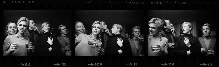 Image: Warhol Entourage Triptych, New York, 1965