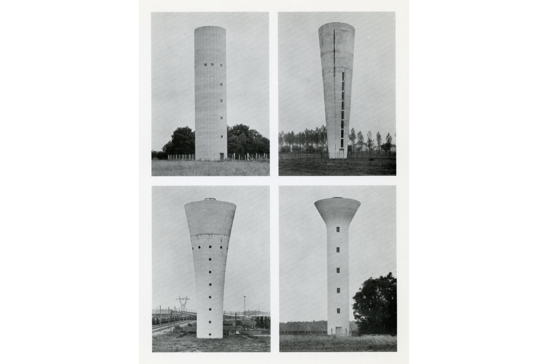 Bernd + Hilla Becher                               Invitation Card, Konrad Fischer Gallery                                Düsseldorf, Germany, 1973