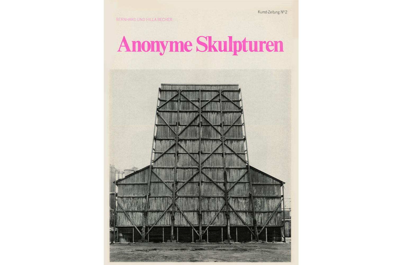 Kunst Zeitung N°2 Anonyme Skulpturen                               Magazine cover for Anonyme Skulpturen, Michelpresse                               Düsseldorf, Germany, January 1969