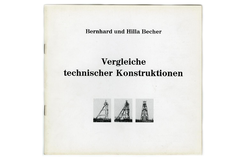 Vergleiche techniser Konstructionen                               Exhibition catalogue                               Aix-la-chapelle, Germany, March 1971