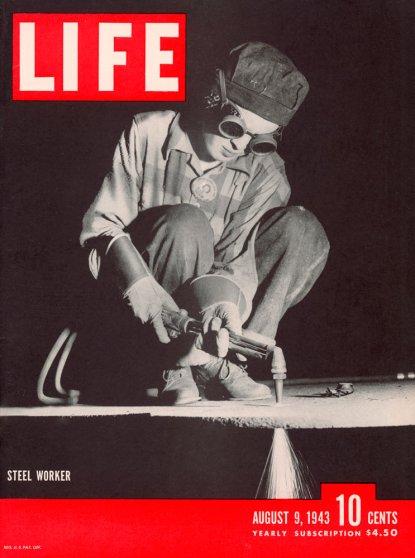 LIFE magazine, August 9, 1943.