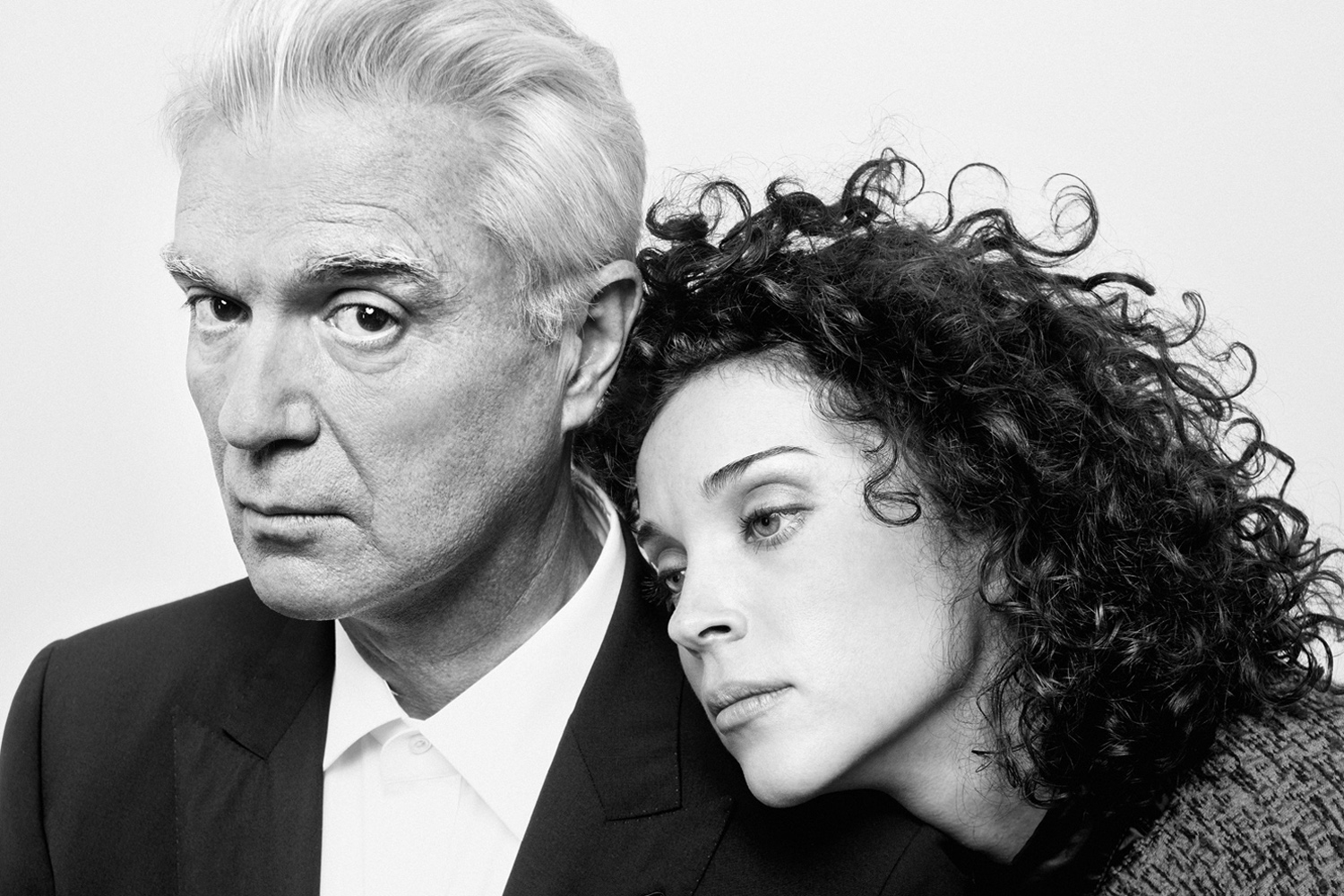 David Byrne (L) and St. Vincent (Annie Clark), Musicians. From  Dream Team,  September 17, 2012 issue.