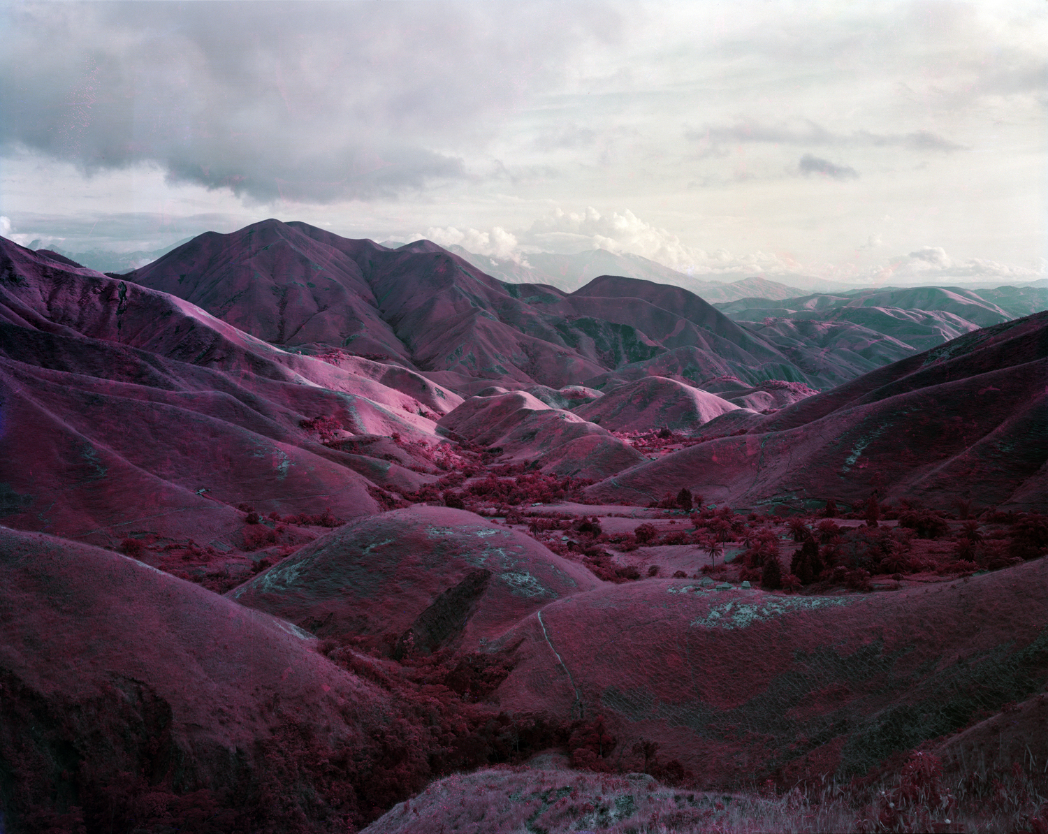 Of course it's impossible to pick a single favorite but the book I kept coming back to this year was Richard Mosse's INFRA (co-published by Aperture and the Pulitzer Center on Crisis Reporting), which is an unconventional look at rebel conflicts in the eastern Congo. Mosse's surreal infrared landscape views depict a place that's as foreign to me as a distant planet so it's fitting that they're drenched in the otherworldly crimson hues that manifest themselves in the worlds of Dr. Seuss. These images have been shown extensively online, their brilliant color tailor-made for a monitor's glowing screen. That effect is wonderfully rendered on these printed pages and the weird battlefield visuals keep you looking. Is this war reportage or art photography? The answer lies somewhere in between and the path to that discovery is fascinating and marvelous.                                                               —Andy Adams, Publisher, FlakPhoto.com