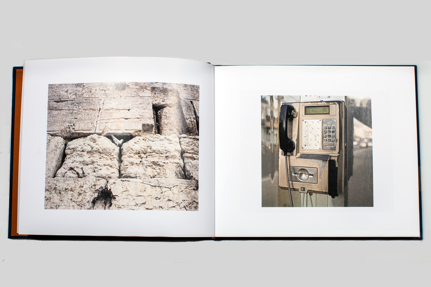 With the never-ending tide of media bombast coming out of Israel and the West Bank, what a relief to spend time with this understated book and quietly reflect on migration, exile and the longing for connection.                                                               —Alec Soth, photographer and publisher of Little Brown Mushroom