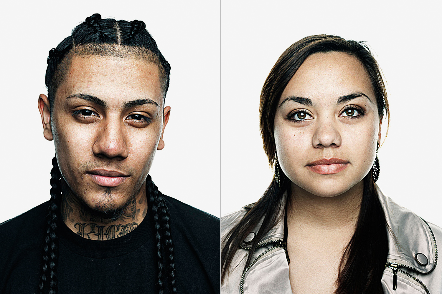 Fabien Rubi, 20 (L) and Claudia Aguirre, 23. From  Why Latino Voters Will Swing the 2012 Election,  March 5, 2012 issue.