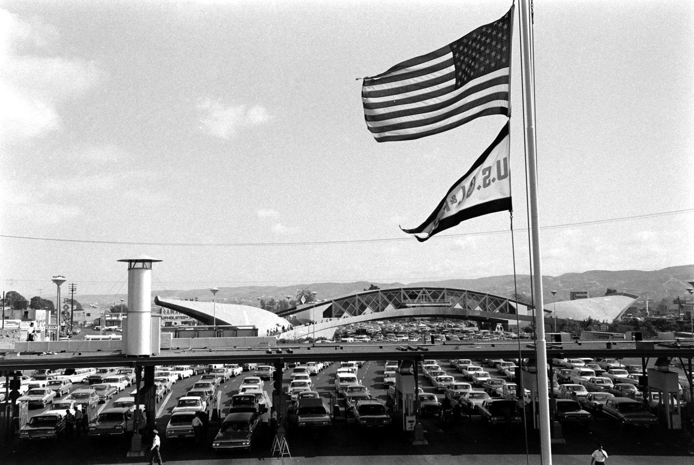 The U.S.-Mexico border, 1969.